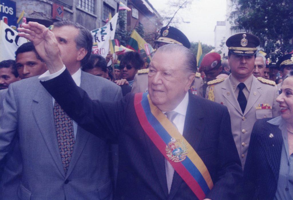 Rafael Caldera segundo gobierno
