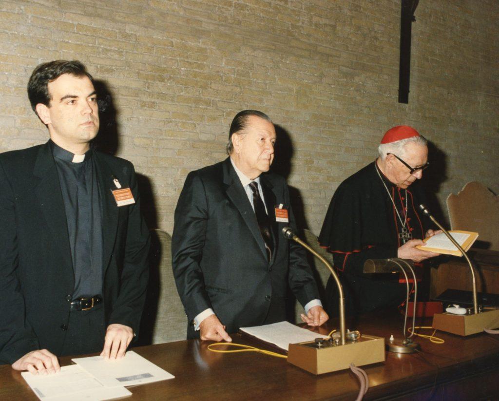 Rafael Caldera en El Vaticano